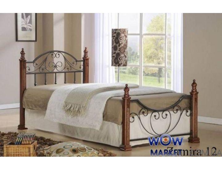 Кровать односпальная Замира 12 (Zamira 12) 120х200 Onder Metal (Ондер Металл)