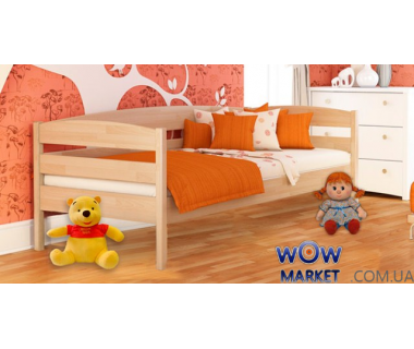 Кровать детская Нота Плюс 80х200см Массив Эстелла