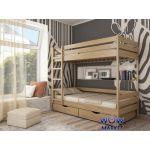 Кровать двухъярусная Дуэт 80х200см (щит) Эстелла