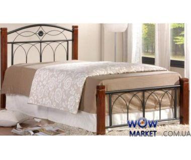 Кровать Миранда односпальная 90х200см каштан Domini (Домини)