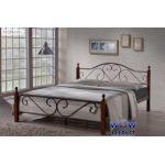Кровать односпальная АТ-815 Onder Metal 120-200