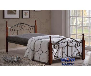 Кровать односпальная AT-9151 90х200см Onder Metal