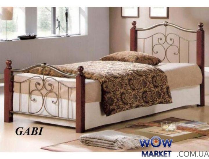 Кровать односпальная Габи N (Gabi N) Onder Metal 90-190