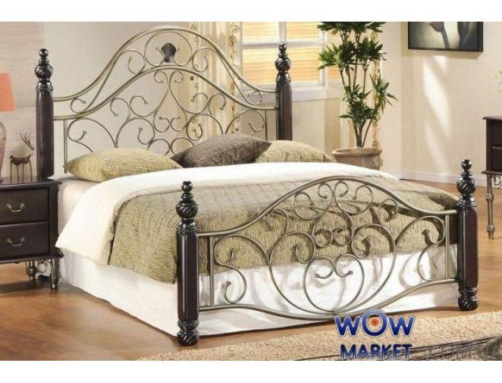 Кровать Валери 10 (Valeri 10) Onder Metal 180-200