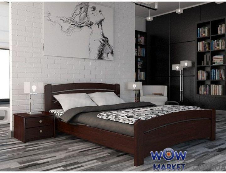 Кровать Венеция 140х200см Массив Эстелла