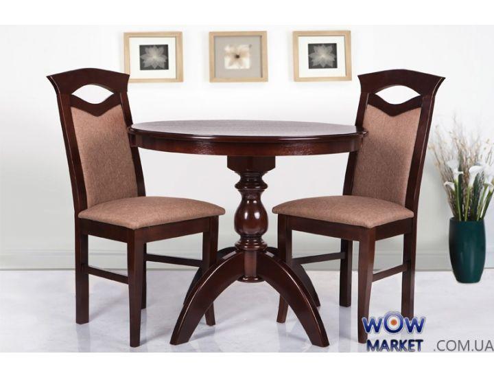 Стол обеденный Престиж 900 (орех) Микс-Мебель