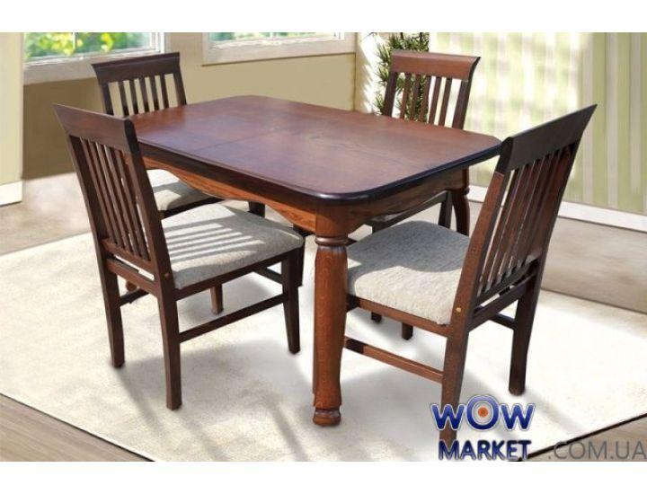 Стол раскладной Гаити 1600(+500)х850мм Микс-Мебель
