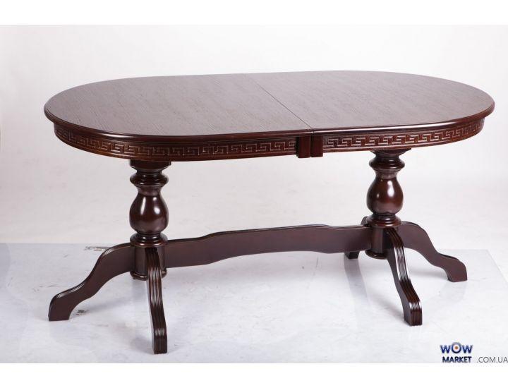 Стол раскладной Оскар Люкс 1600(+400+400)х900мм орех, венге Микс-Мебель Престиж