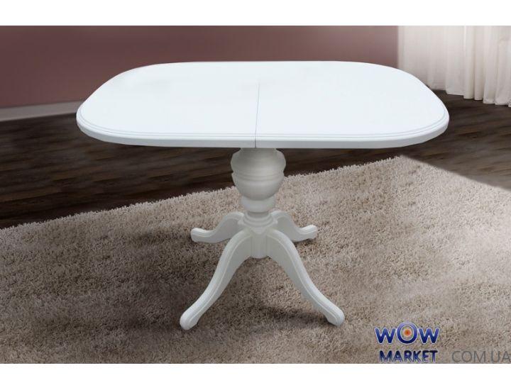 Стол раскладной Триумф (Белый, ваниль) Микс-Мебель Авангард