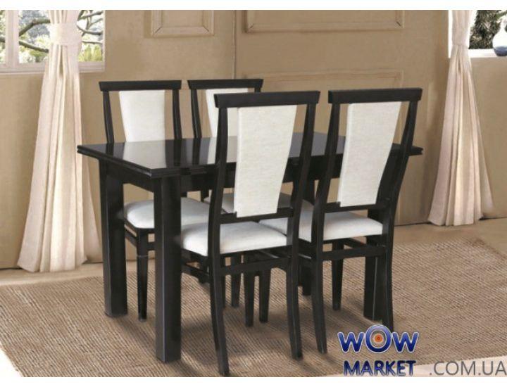 Стол раскладной Петрос (венге) 1200(+400)*800мм Микс-Мебель Карпаты