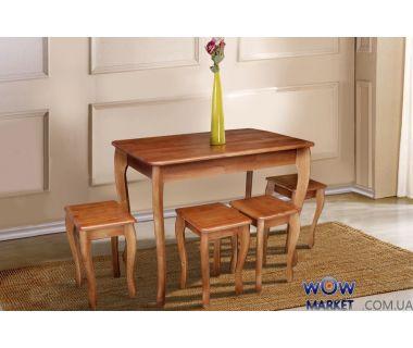 Стол обеденный Смарт (коньяк) Микс-Мебель