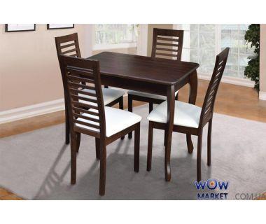Стол обеденный Смарт (орех) Микс-Мебель