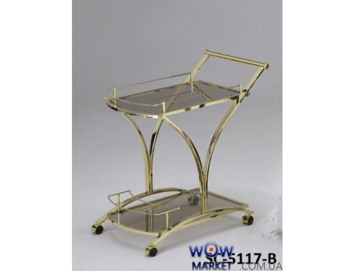 Стол сервировочный передвижной SC-5117-B Onder Metal (Ондер Металл)