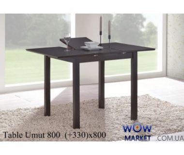 Стол раскладной Умут 80 (Umut) Венге Onder Metal (Ондер Металл)