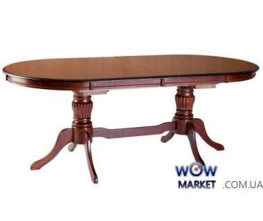 Стол раскладной Анжелика V 2м (каштан) Domini (Домини)