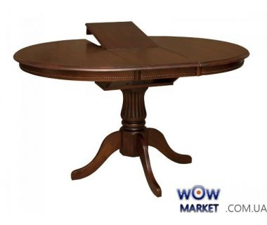 Раскладной стол Анжелика V 1м (каштан) Domini (Домини)